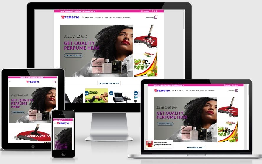 Online Store in Ghana