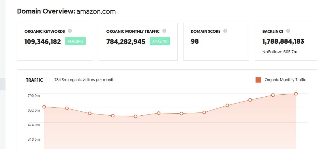 How to Rank Webiste Like Amazon in 2020