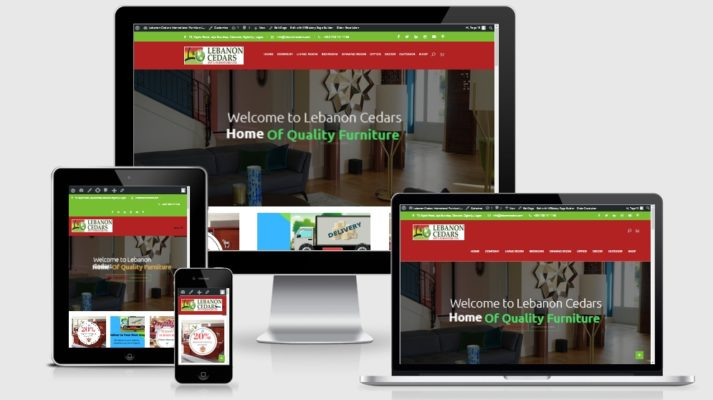 Design Home Decor Website