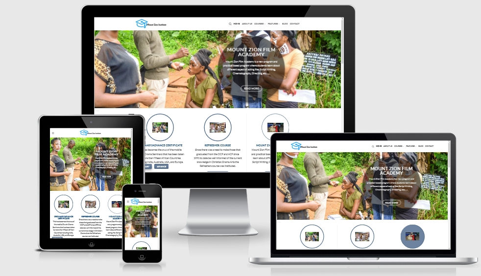 Mount Zion Institute Website